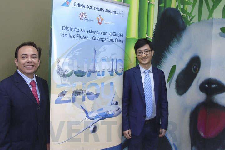 Gerardo Mendoza y Diego Jiang