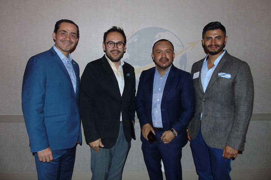 Benjamín Díaz, Jesús Martínez Jr., Miguel Galicia y Juan Carlos Ruiz