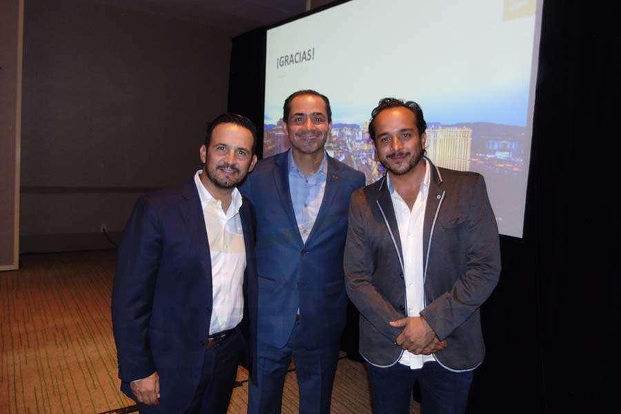 José Trauwitz, Benjamín Díaz y Luis Ortiz