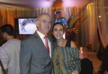 Guillermo Valencia con Isabel Azpiri