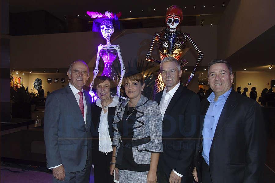 Guillermo Valencia, Fanny Calero, Patricia Marulanda, Sean Reilly y Steven Ángel
