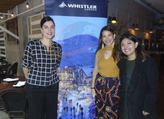 Tania Sear, Carla Guerrero y Yarely León