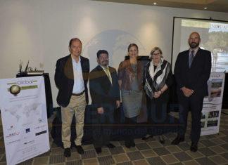 Salvador Fernández, Alfonso Barquín, Sara Borrás, Anthea Joubert y Jordi Casinos