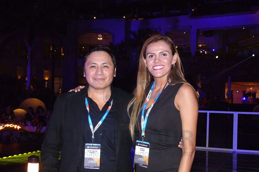 Juan Carlos Caamal-Jiménez y Estela García