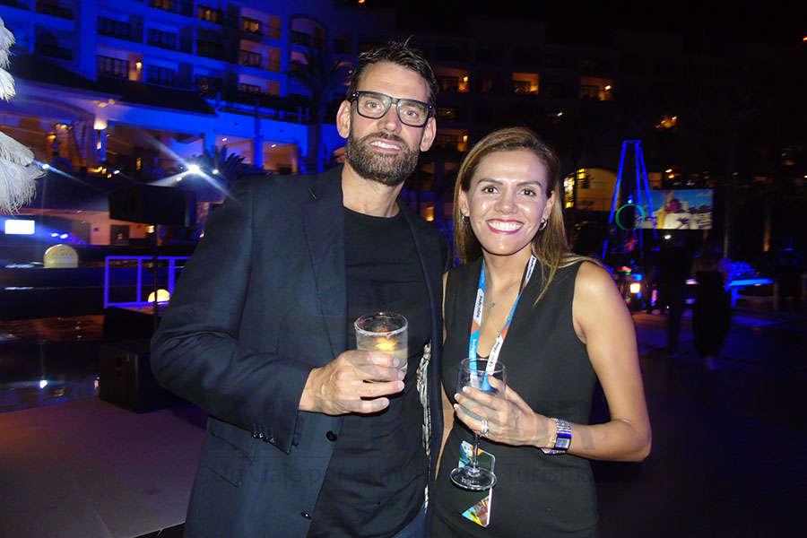 James Phillips y Estela García