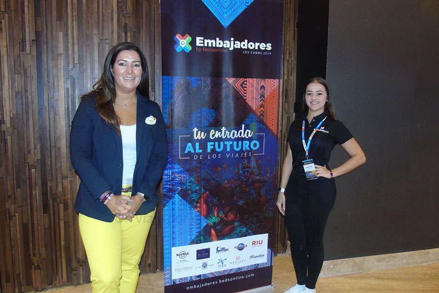 Mariale Ojeda y Alicia Orta-Stanford