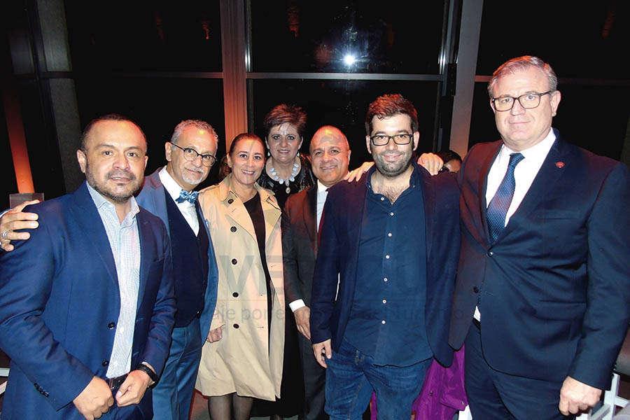 Miguel Galicia, Jaime Rogel, Sylvia Esquivel, Maylen Jean, Benjamín Izquierdo, Oriol Riera y Luis Noriega