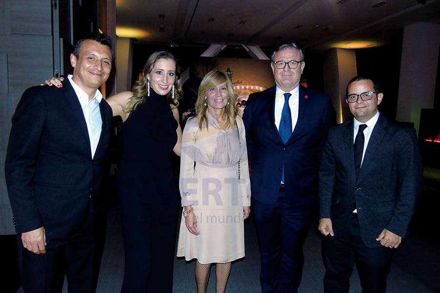 Francisco Bravo, Ari Martínez, Lourdes Berho, Luis Noriega y Mauricio Bustamante