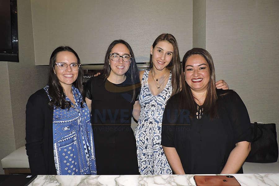 Maitane González, Fernanda Maldonado, Adriana Rosales y Fernanda Basurto