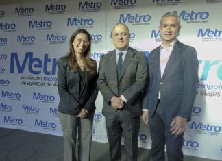 Andrea Daza, Benjamín Izquierdo y Jaime Díaz