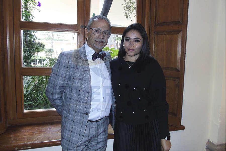 Jaime Rogel y Mariana Pérez