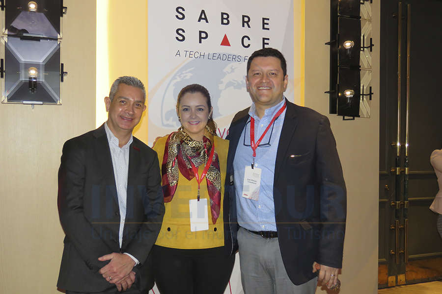 Jaime Díaz, Mónica Cárdenas y Juan Camilo Rincón