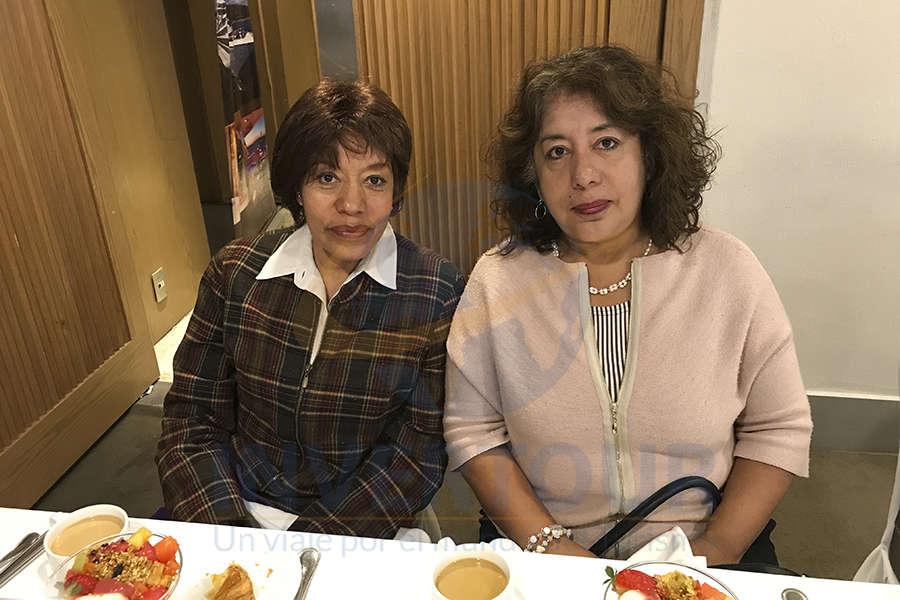 Isabel Hernández y Angélica Hernández