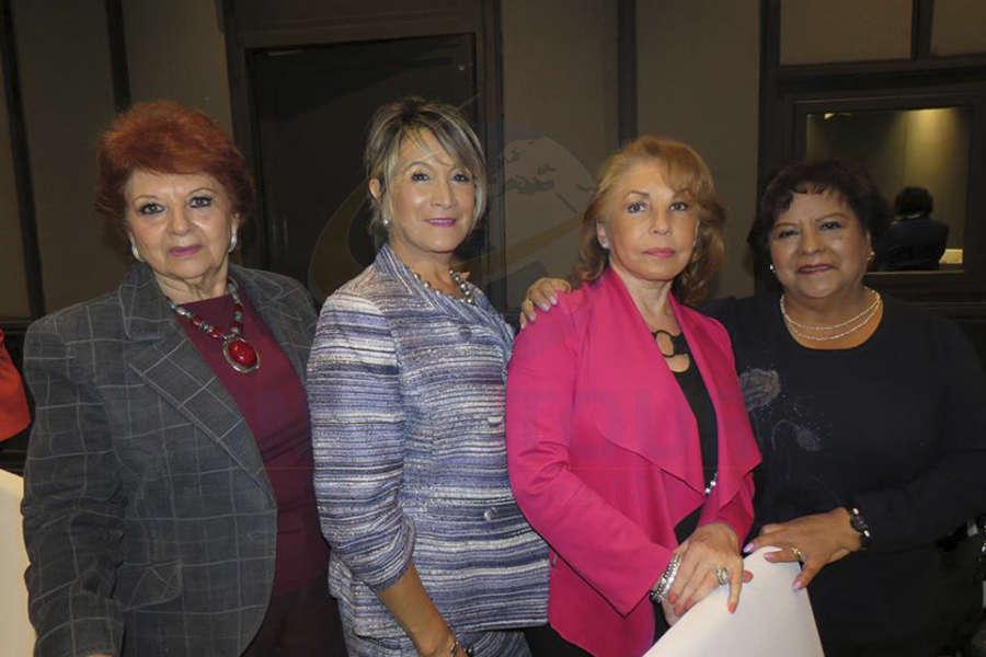 Maricarmen Vargas, Connie Martin, Gabriela Villareal y Luz María Larrondo
