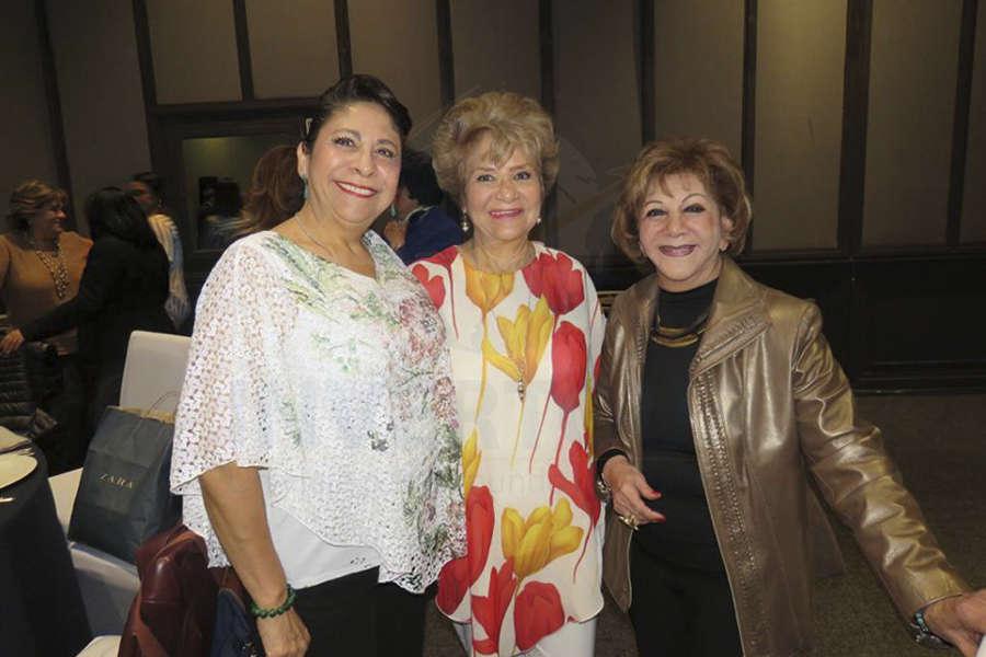 Blanca Olivera, Angie Cruz y Olga Arauz