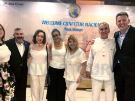 Brisa Amaya, Jorge Mejía, Teresita Muñoz, Ana Serrano, Alicia Mejía, Héctor Luna y Max Kusznir