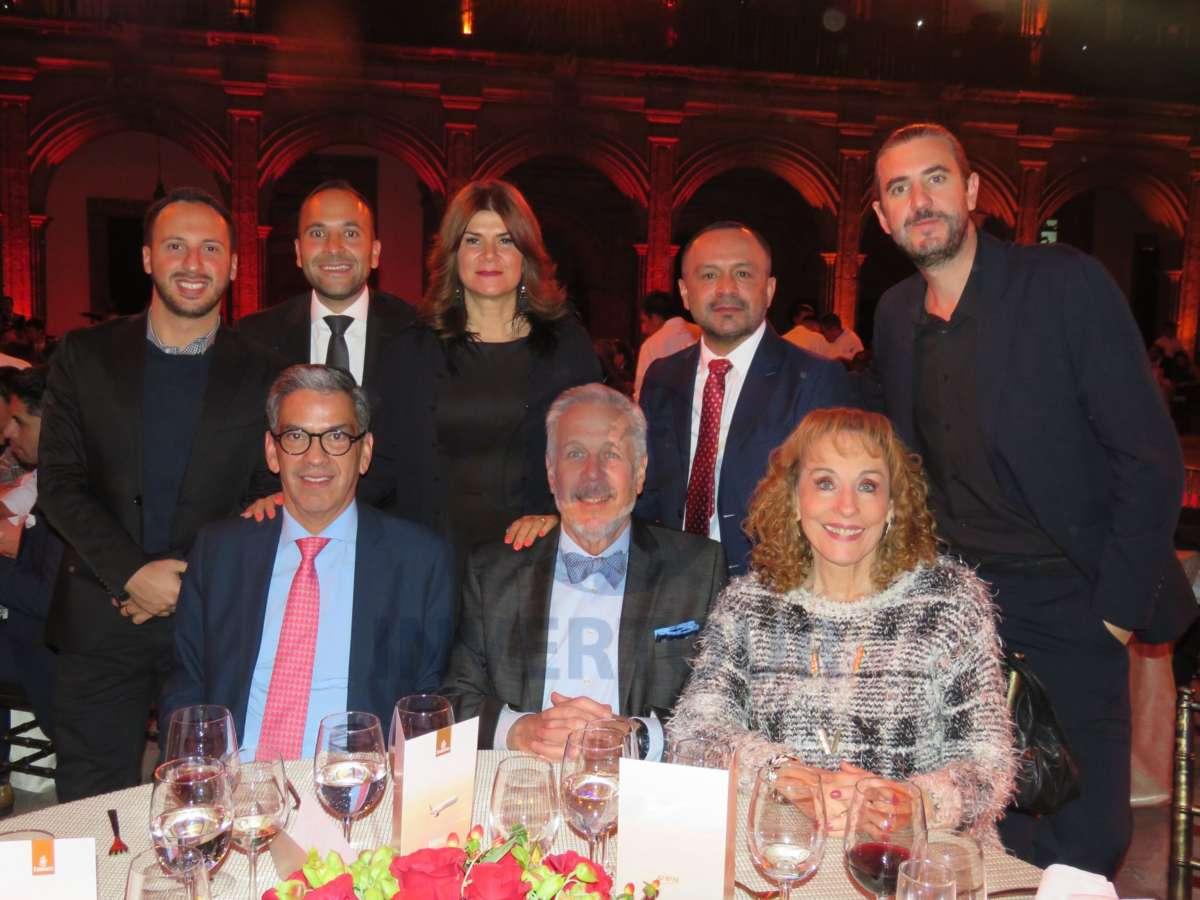 Matías Adamo, Manuel Viñas, Fernando Cabrera, Verónica Lara, Miguel Galicia, Maru Denigris y Jordi Llorens