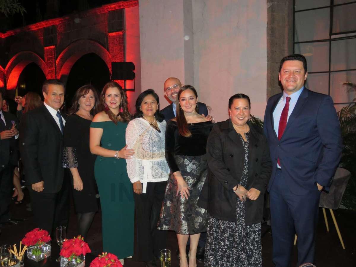 Marco Antonio Cárdenas, Gabriela Hernández, Mónica Cárdenas, Ma. Juana Teopa, Francisco Posada, Ana Pisa, Zuleika Gómez y Juan Camilo Rincón