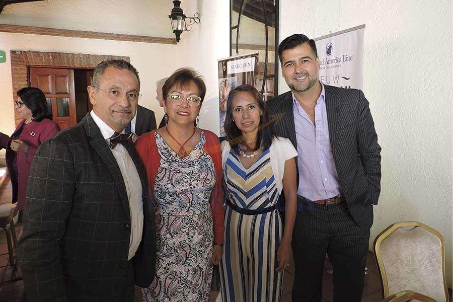 Jaime Rogel, Yolanda González, Karelia Paralizabal y David Aguirre