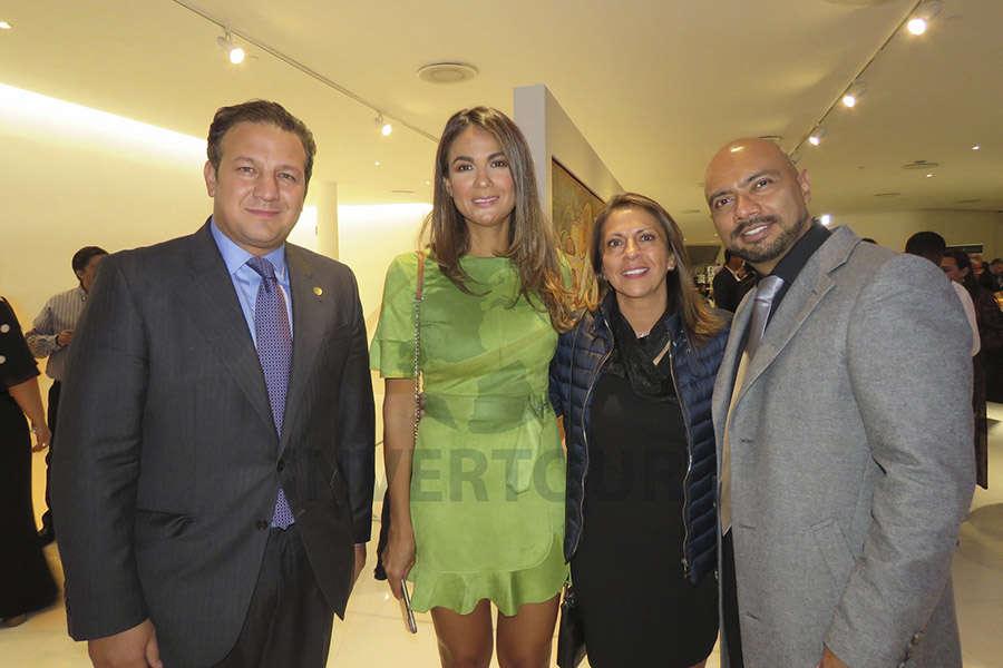 Roberto Trauwitz, Evelin Melgarejo, Alejandra Gómez y Eloy Pérez
