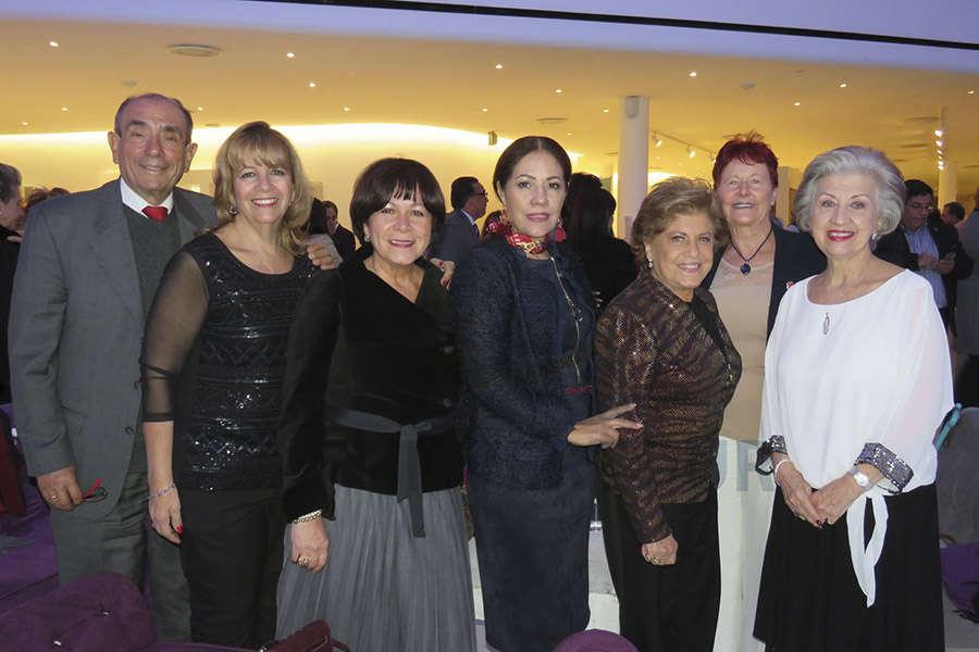 Rodolfo y Graciela Curiel, Arlina Zurita, Patricia De La Concha, Ma. Antonieta Villarreal, Murielle Zarazúa y Ma. Luisa Luengas