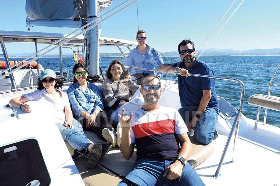 Adelaida Ardila, Marcela Carmona, Patricia Flores, David Cater, Carlos Calderón y Carlos Allende