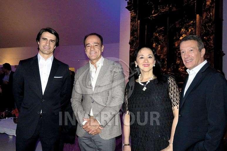 Alejandro Reynal, Alex Zozaya, Yarla Covarrubias y Gonzalo del Peón