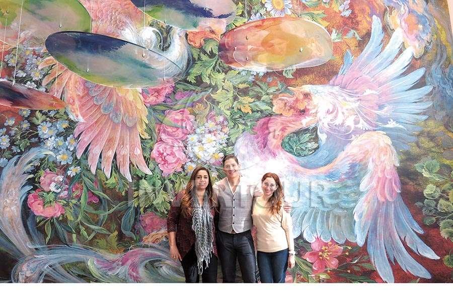 Claudia González, Miguel Angel Miranda y Gilda Cabello