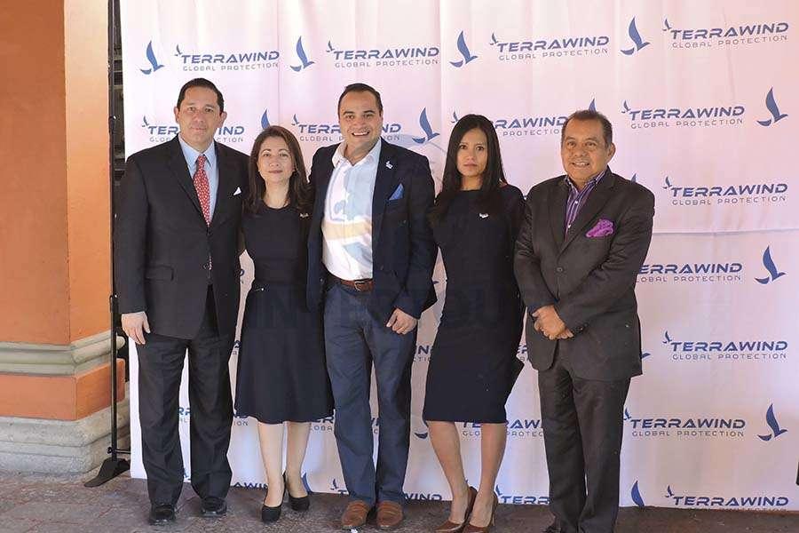 Marcelo Espinosa, Claudia Vásquez, Mauricio Quintana, Isabel Conteras y Raphael Paredes