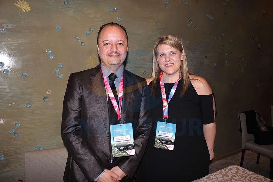 Raúl de la Cruz y Lindsey Hull
