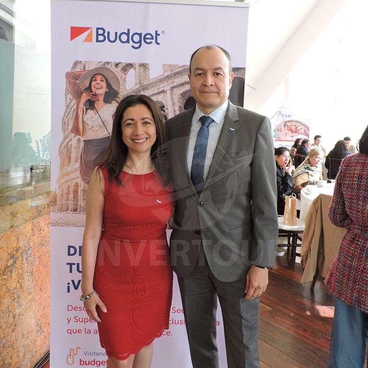 Claudia Vásquez y Carlos Fernández