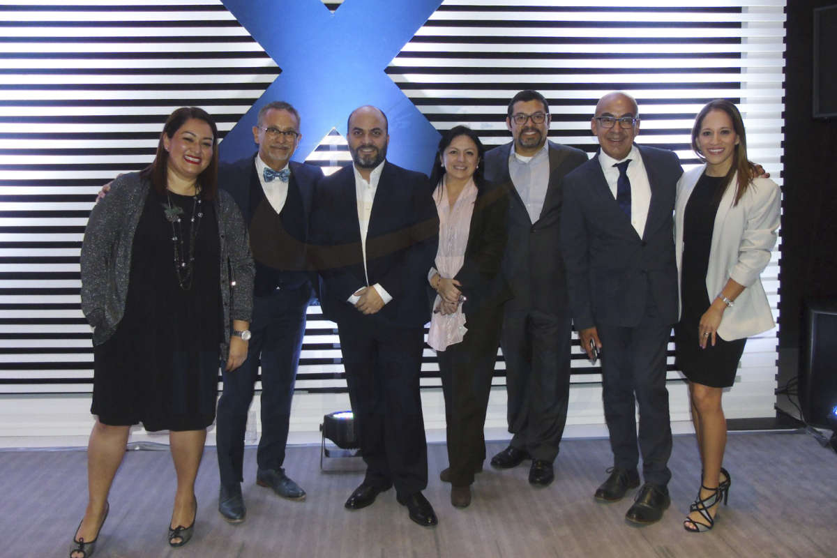 Fernanda Basurto, Jaime Rogel, Manlio Carpizo, Claudia Garduño, Ramiro Gómez, Erwin Romero y Gina Jiménez
