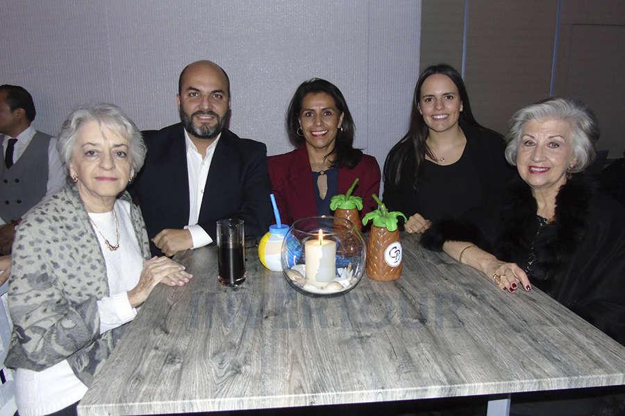 Ana Soto, Manlio Carpizo, Nora Negroe y María Luisa Luengas