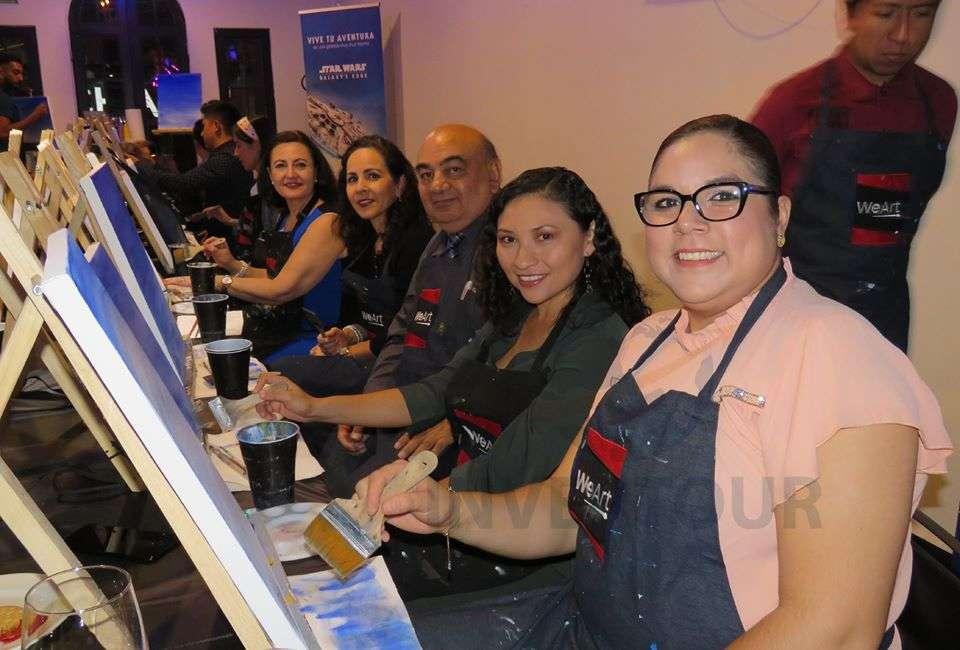 Elizabeth Reynoso, Ana Alicia Charles, Pedro Melendes, Yajaira Tzec y Alejandra Barrera