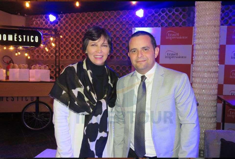 Bárbara Karim y Mauricio Bustamante
