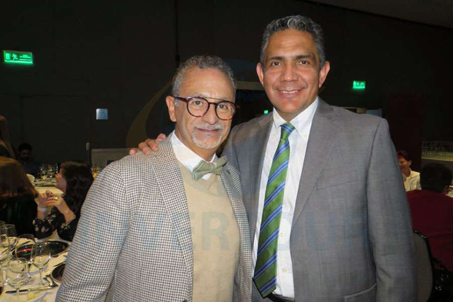 Jaime Rogel y Mauro Arredondo