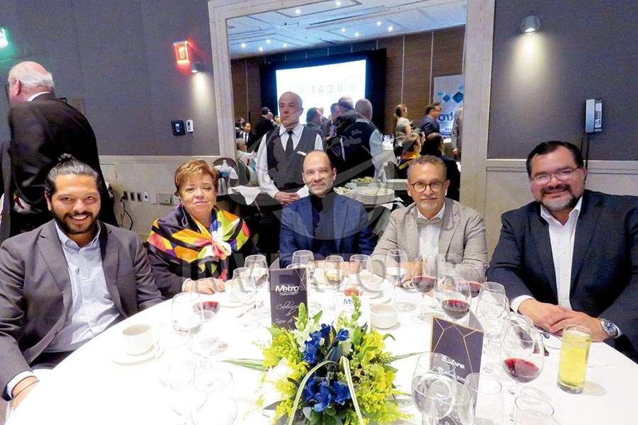 Maru Bravo, Federico Mainfelt, Jaime Rogel y Octavio Aguilar