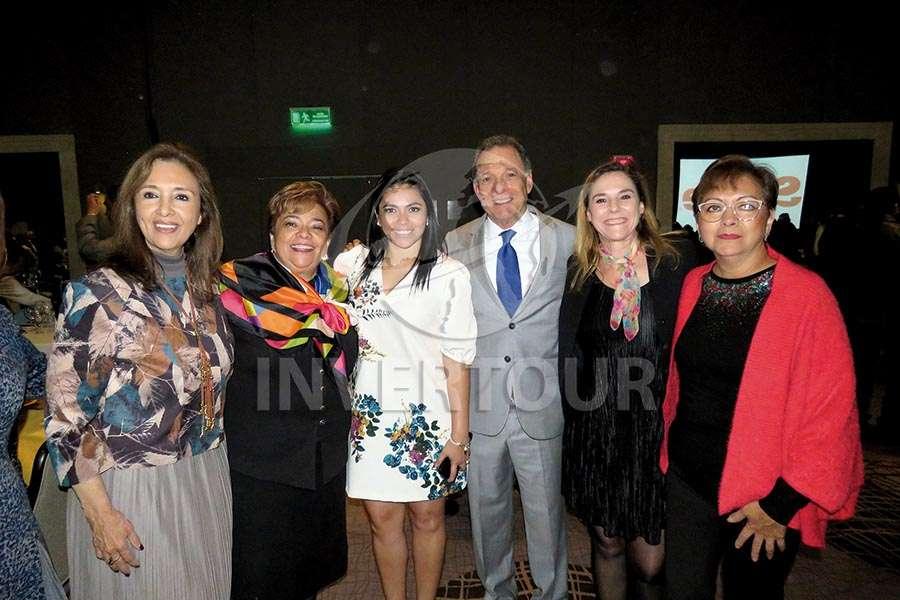 Carmen Torreblanca, Maru Bravo, Mariana Pérez,  Manuel de la Rosa, Karim Baldamus y Yolanda González
