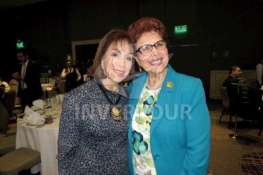 Teresita Luna y Yolanda Roldán