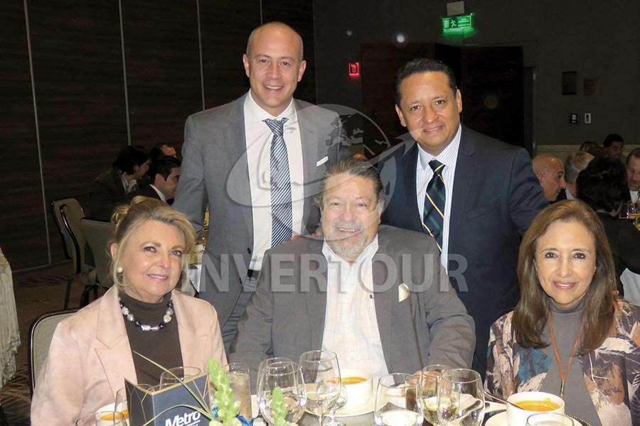 Sonia Maiz, Federico Monterrubio, Salvador Maiz, Adolfo Jiménez y Carmen Torreblanca