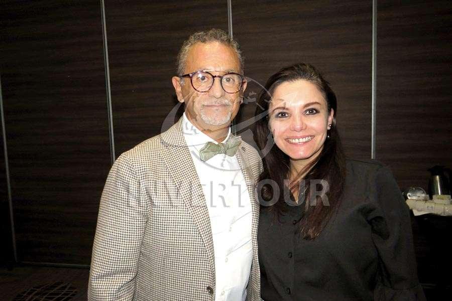 Jaime Rogel y Carla Ponce