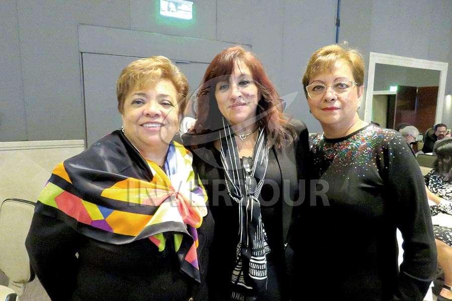 Maru Bravo, Rosy Sosa y Yolanda González