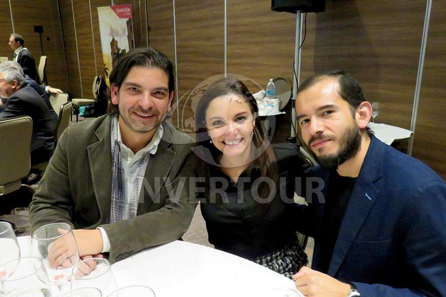 Luis Miguel Santana, Carla Ponce y Alan Campos