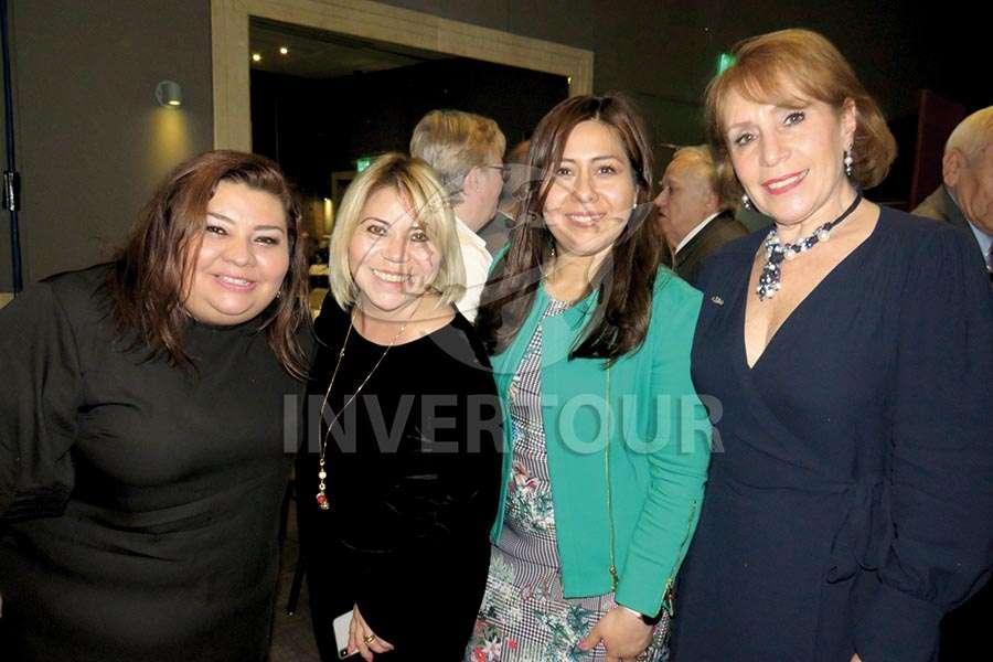 Celida Puente, Alicia Mejía, Brenda Alonso y Alicia Terán