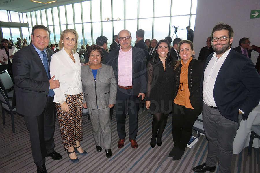 Roberto Trauwitz, Begoña Fernández, Luz María Larrondo, José Manuel Díaz de Rivera, Mariana Pérez, Marta Sánchez y Oriol Riera