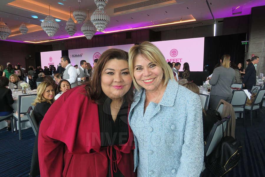 Célida Puente y Alicia Mejía