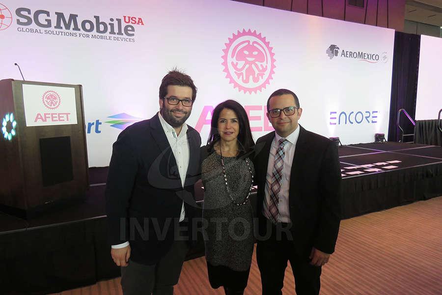 Oriol Rieria, Susy Orizaga y Mauricio Bustamante