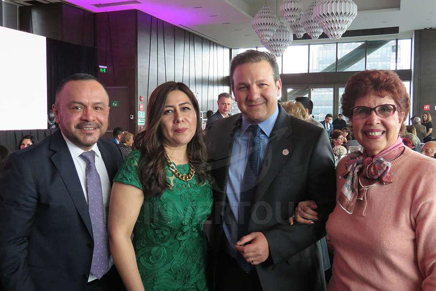 Miguel Galicia, Brenda Alonso, Roberto Trauwitz y Yolanda Montes