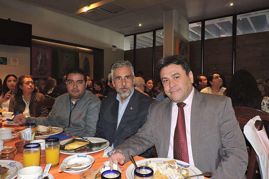 José Ramírez, Ariel Olaverría y Omar Bastardo