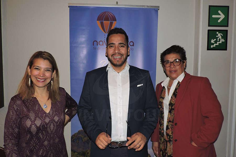 Carla Guerro, Miguel Vargas y Teresa Pérez